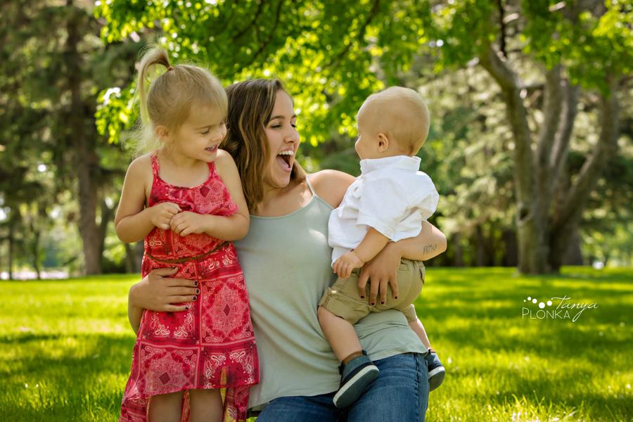 Henderson Lake summer family photography