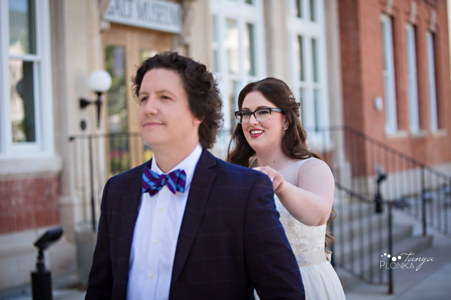 Jennifer & David, Galt Museum wedding photos