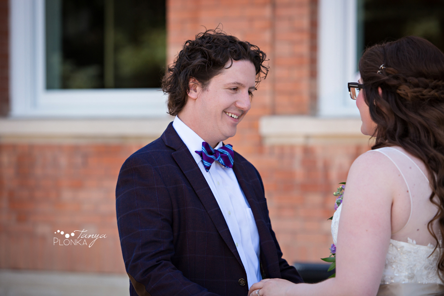 Jennifer & David, Galt Museum wedding photos