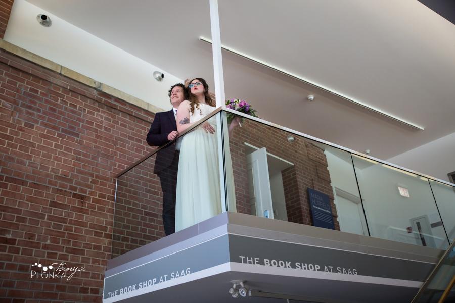 Jennifer & David, Southern Alberta Art Gallery wedding