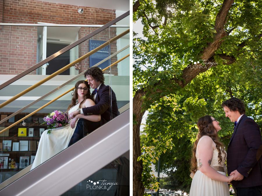 Jennifer & David, Lethbridge SAAG summer wedding