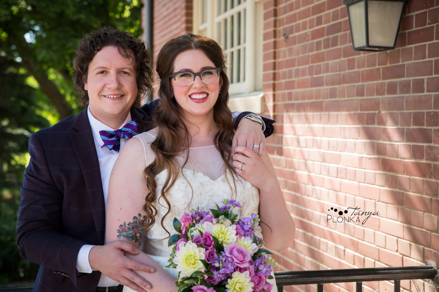 Jennifer & David, Southern Alberta Art Gallery summer wedding