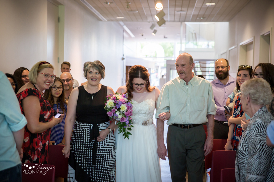 Jennifer & David, Southern Alberta Art Gallery summer wedding