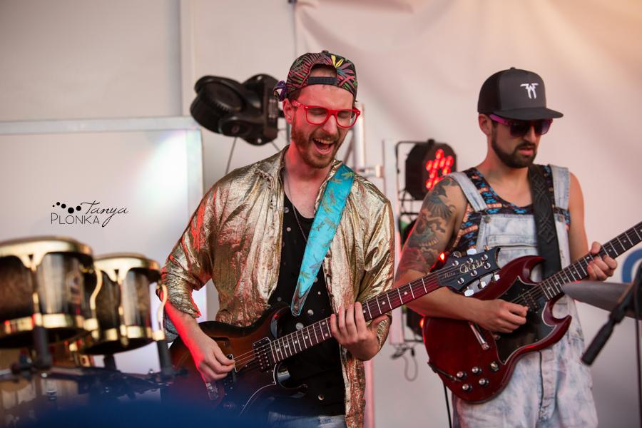Five Alarm Funk Lethbridge Canada Day performance