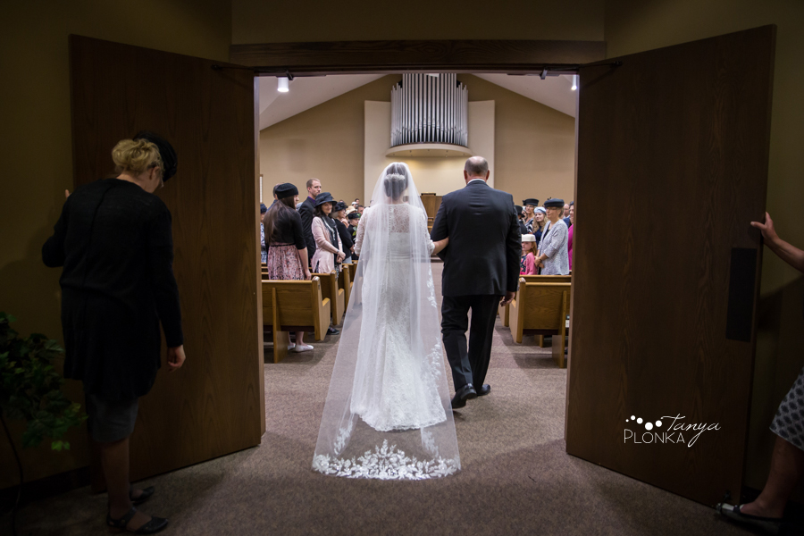 Willene and Joel, Lethbridge NRC church wedding