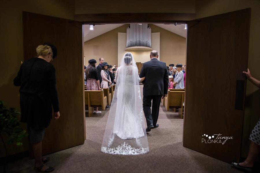 Willene and Joel, Lethbridge NRC church wedding