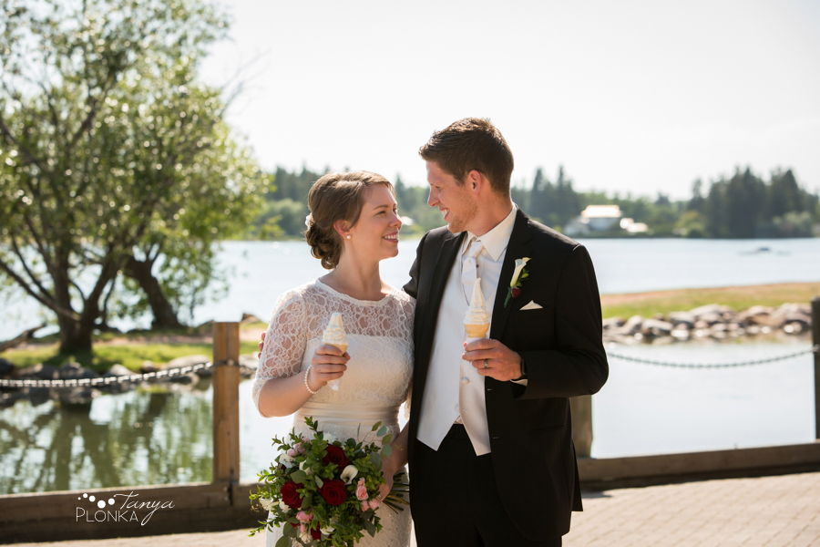 Willene and Joel, Henderson Lake Summer Wedding Photos