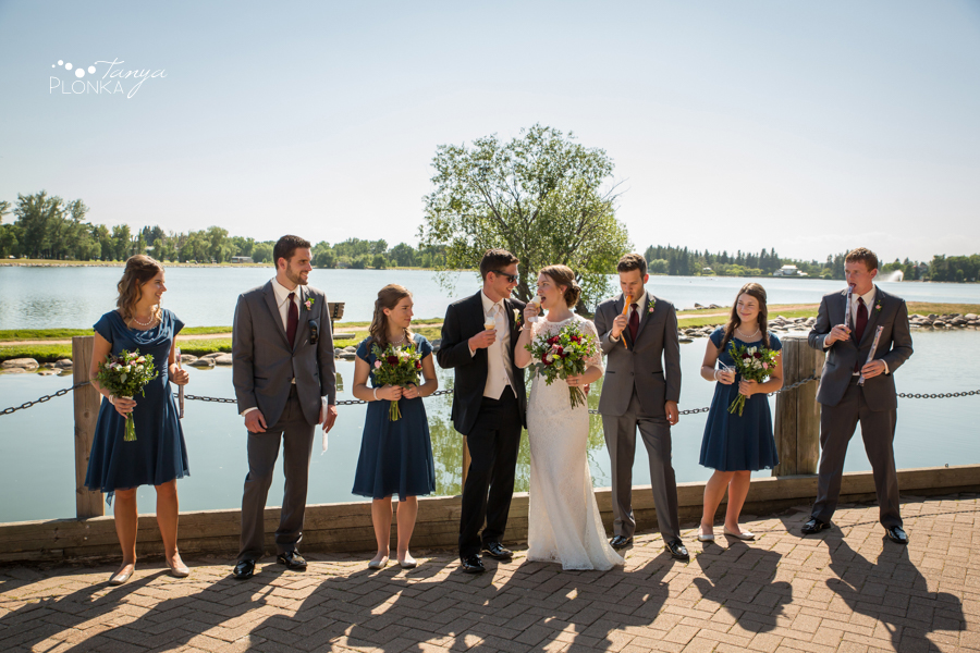 Willene and Joel, Henderson Lake Summer Wedding Photos