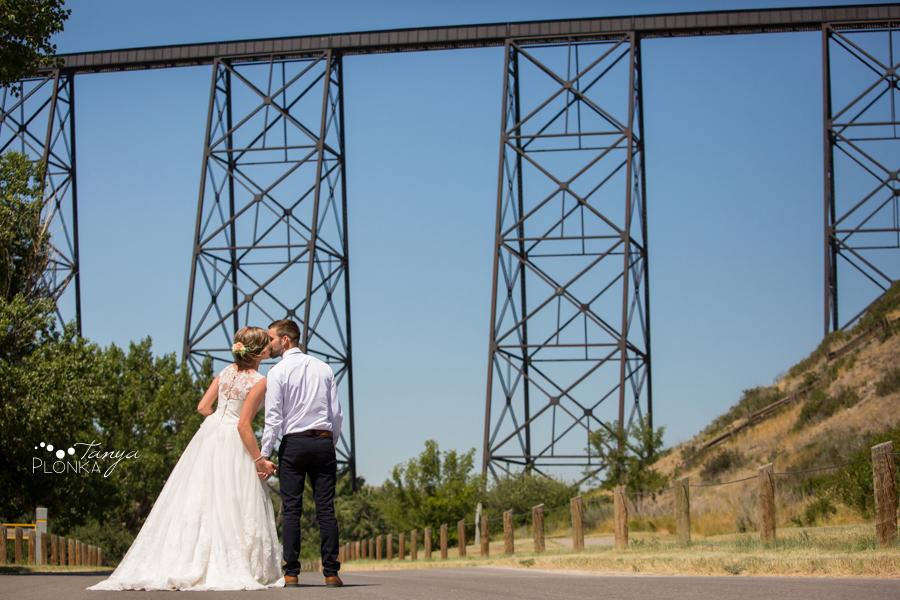 Willianne and Steven, Lethbridge High Level Bridge Wedding Photos