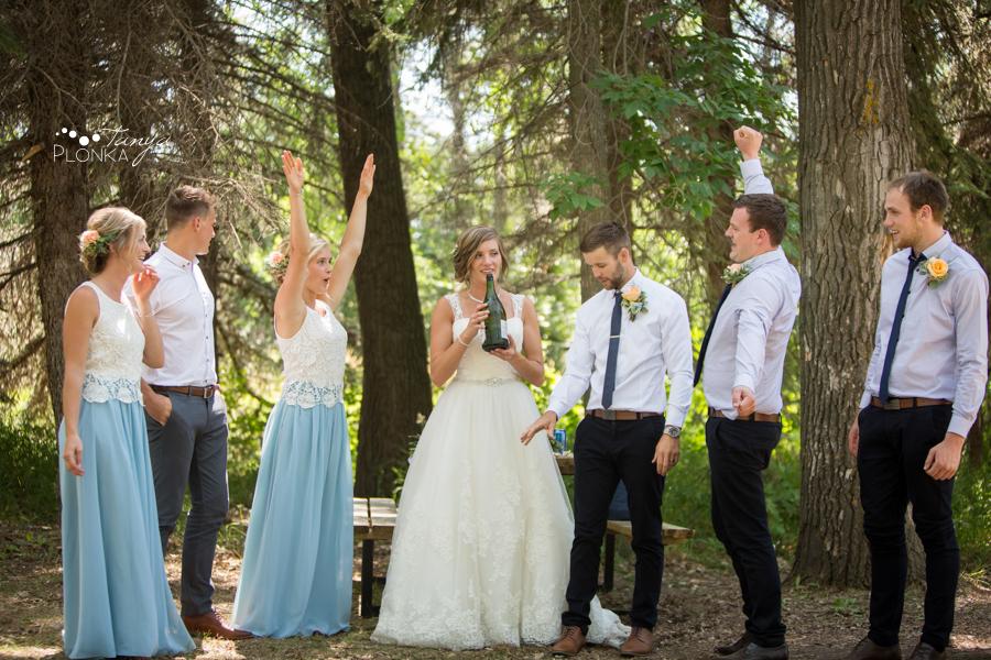 Willianne and Steven, Park Lake Alberta Wedding Photos