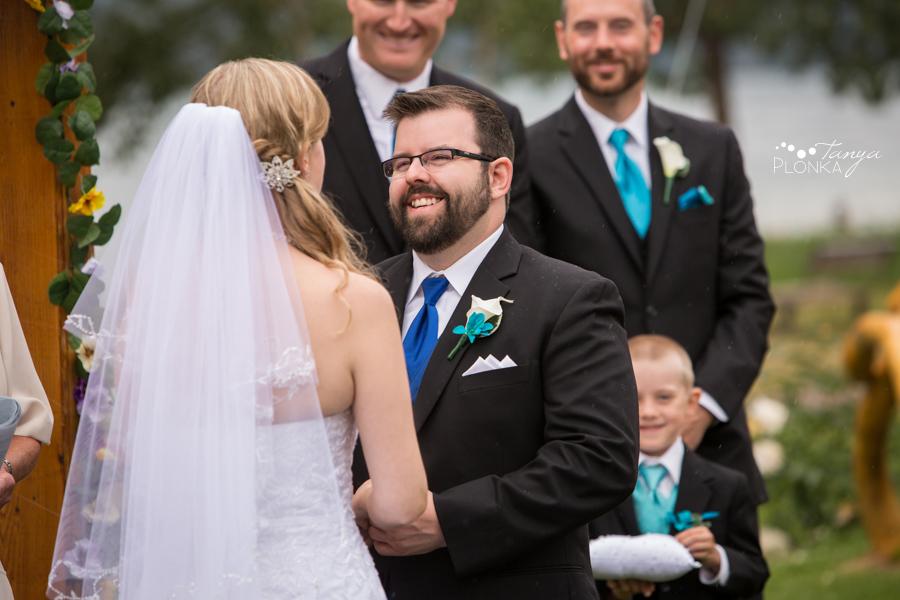 Nicole and Derek, Bayshore Inn outdoor Summer Wedding
