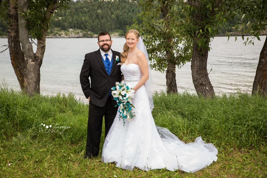 Nicole and Derek, Bayshore Inn Waterton Summer Wedding