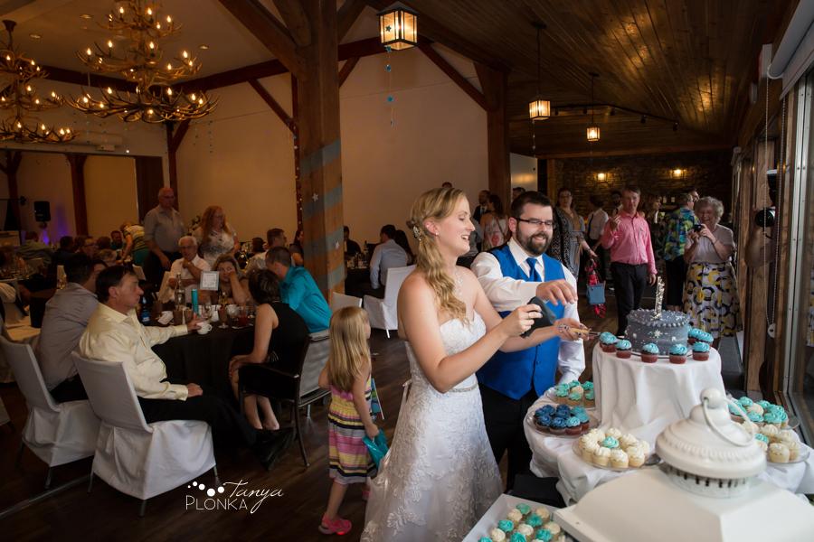 Nicole and Derek, Bayshore Inn Waterton Summer Wedding reception