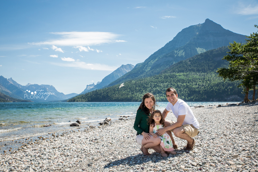 Waterton Lakes family photography