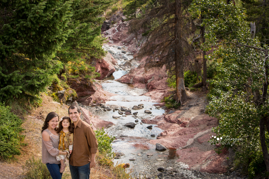 Waterton Lakes summer family photos