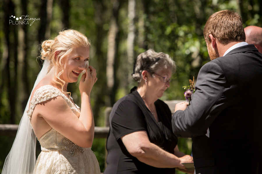 Jodie and Steven, Twin Butte farm wedding ceremony