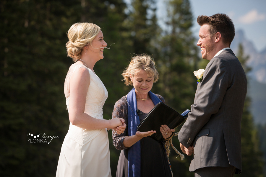 Erik and Alena, Mount Norquay Banff Wedding