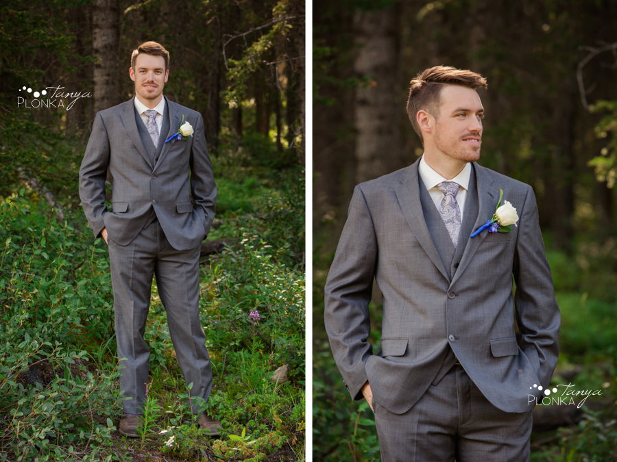 Erik and Alena, Banff National Park Wedding Photos