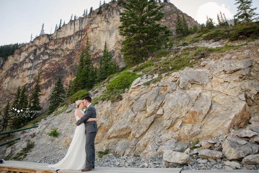 Erik and Alena, Banff National Park Wedding Photos