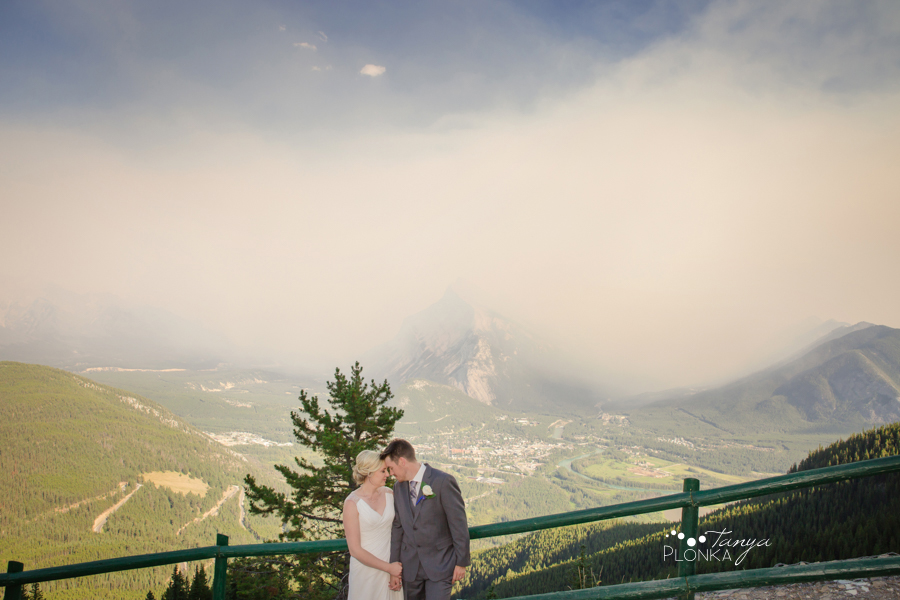 Erik and Alena, Mount Norquay Wedding Ceremony