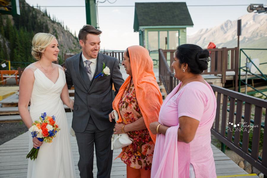 Erik and Alena, Mount Norquay Wedding Ceremony