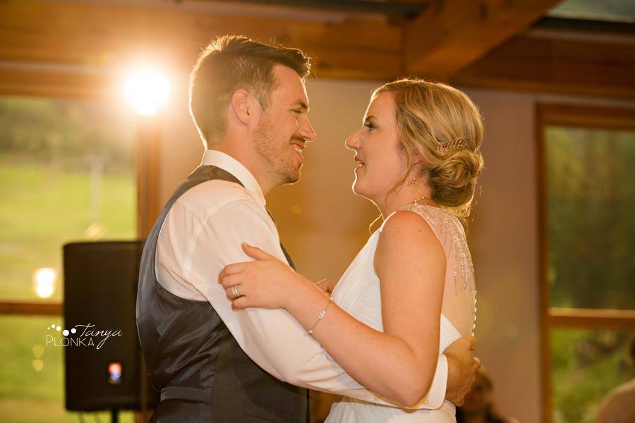 Erik and Alena, Mount Norquay Wedding Reception