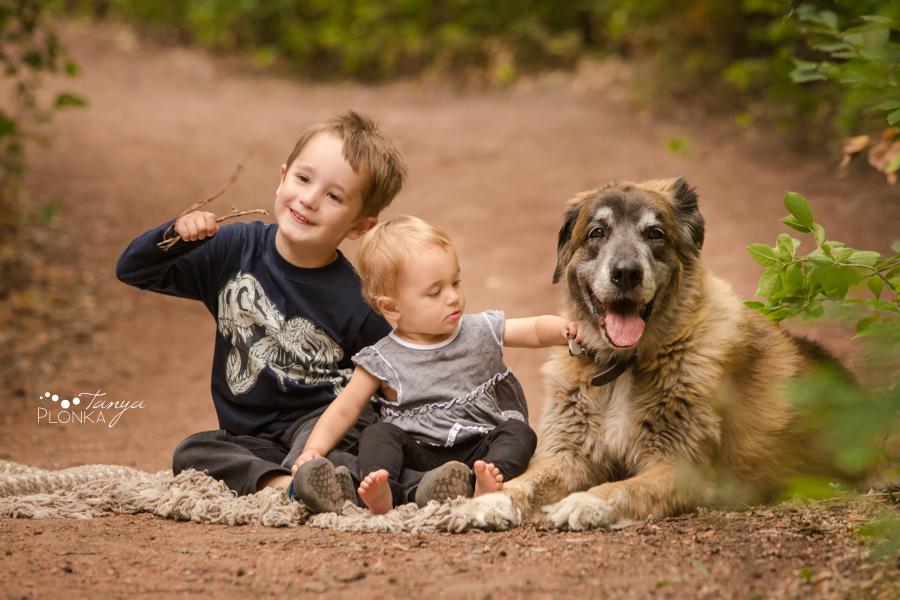 Pavan Park summer family portrait session