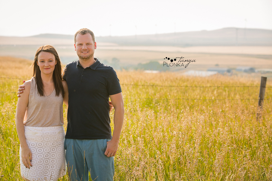 Pincher Creek cabin family portrait session