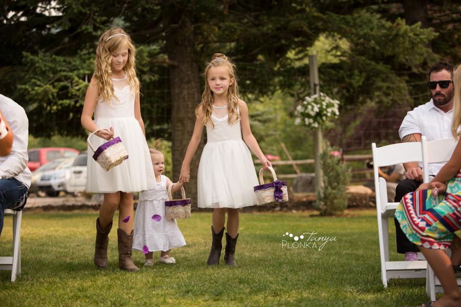 Amanda and Jesse, SpringBreak Flower Farm outdoor ceremony