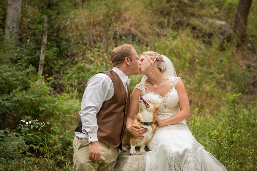 Amanda and Jesse, Crowsnest Pass summer wedding photos