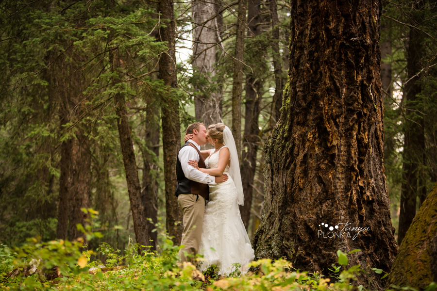 Amanda and Jesse, Crowsnest Pass summer wedding photos