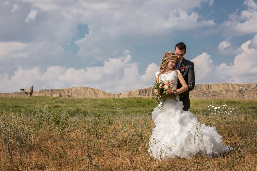 Koralee and Colin, Diamond City Cattle Ranch Wedding Photos