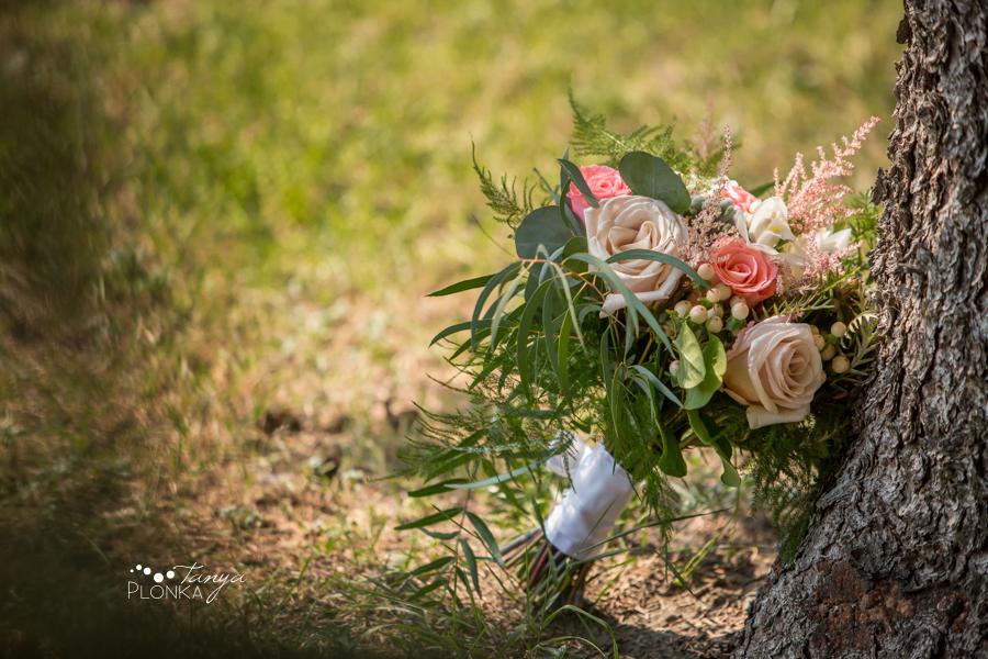 Koralee and Colin, Lethbridge wedding flower bouquet