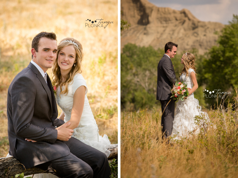 Koralee and Colin, Diamond City wedding photos