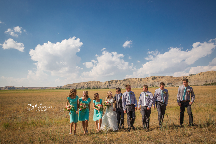 Koralee and Colin, Southern Alberta Cattle Ranch Wedding Photos