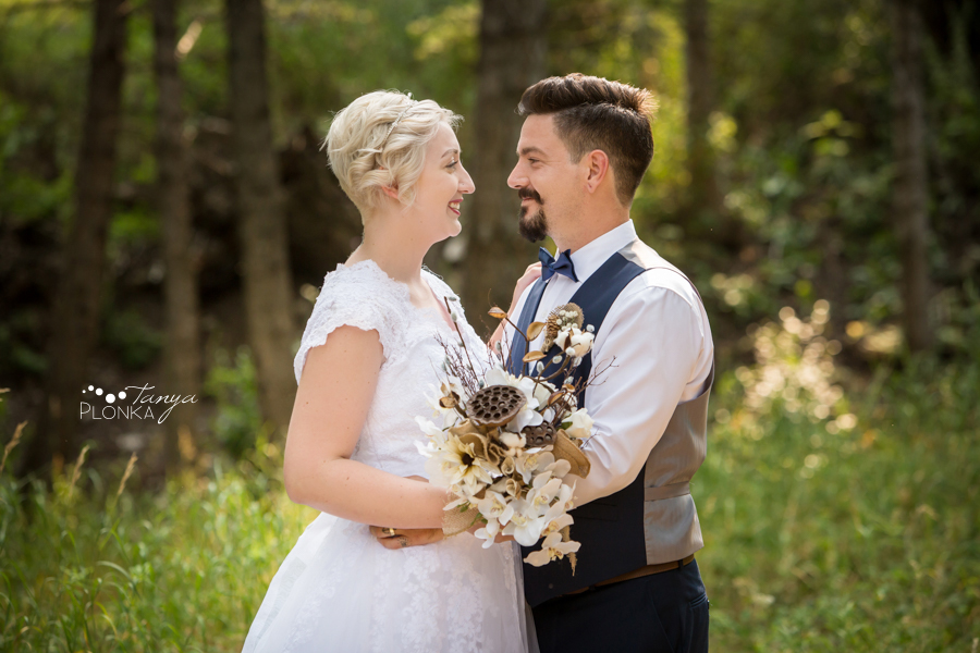 Raylene and Mitchell, Flumerfelt Park outdoor wedding