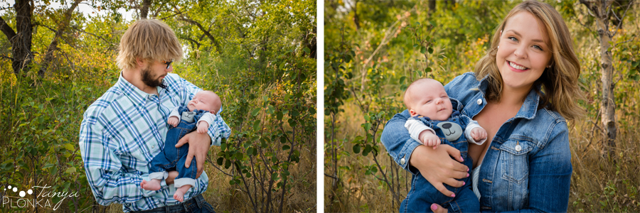 Fort Macleod newborn family photo session