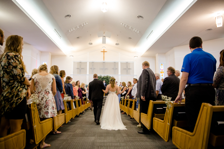 Jessica & Josiah, Lethbridge wedding ceremony at Trinity Reformed Church