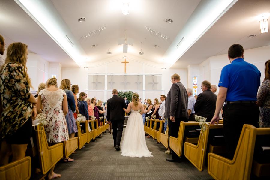 Jessica & Josiah, Lethbridge wedding ceremony at Trinity Reformed Church