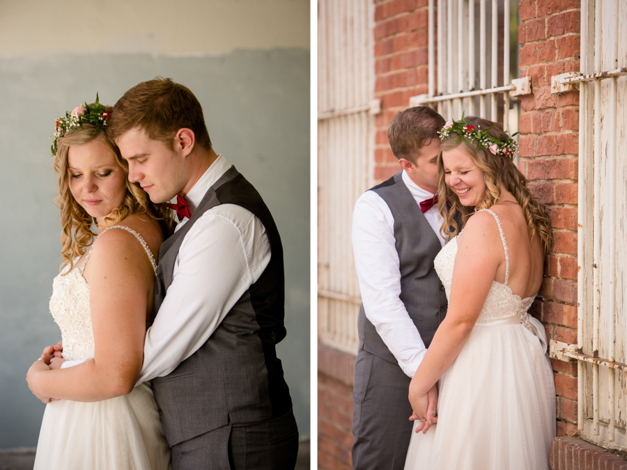 Jessica & Josiah, downtown Lethbridge wedding photos