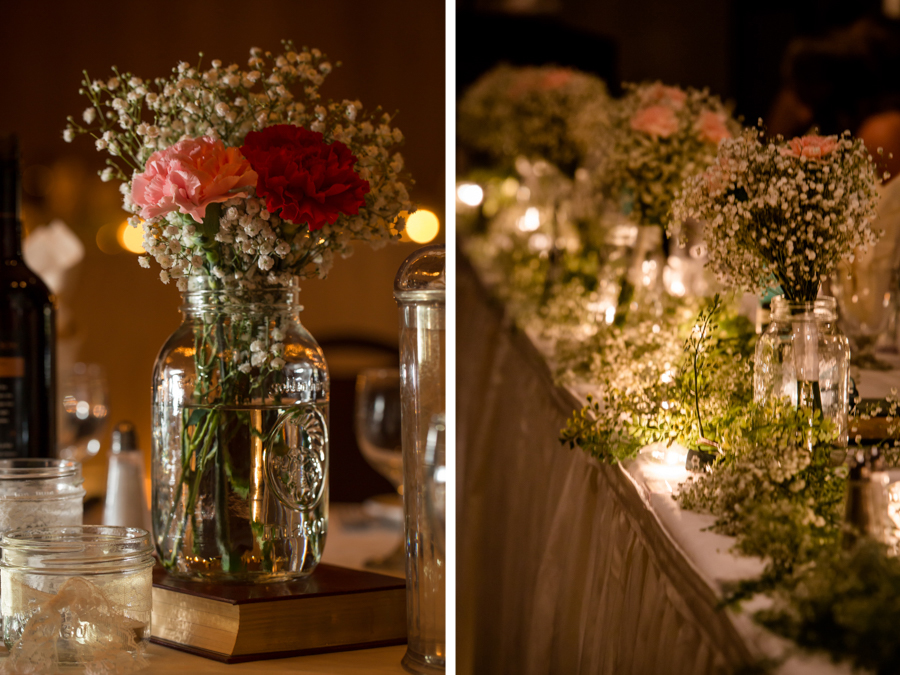 Jessica & Josiah, Lethbridge Coast Hotel wedding reception decorations