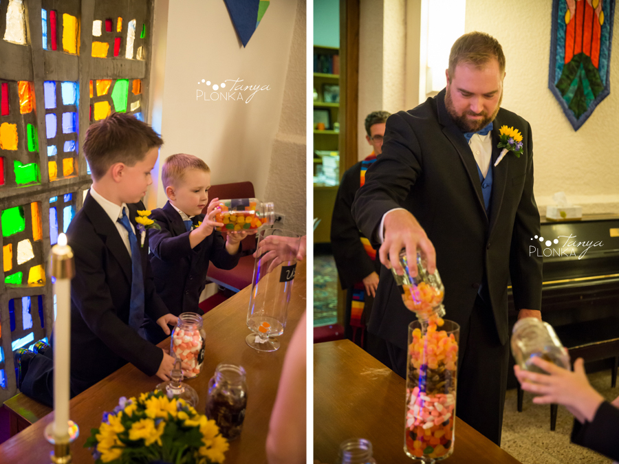 Mandy and Chris, Intimate Southminster United Church chapel wedding