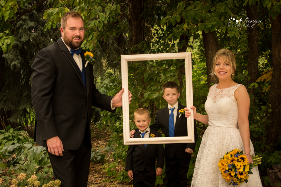 Mandy and Chris, Lethbridge Research Station wedding photos
