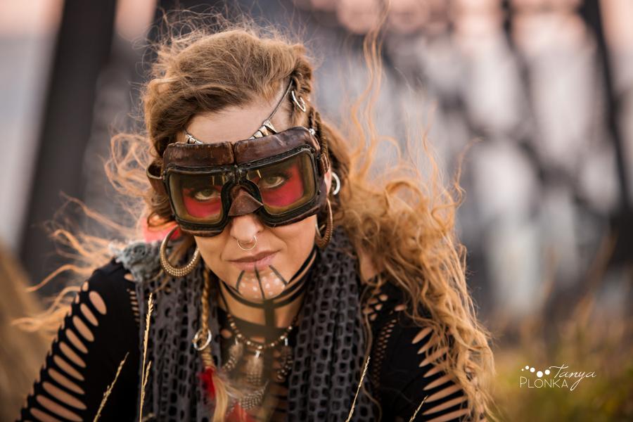 post apocalypse warrior portraits