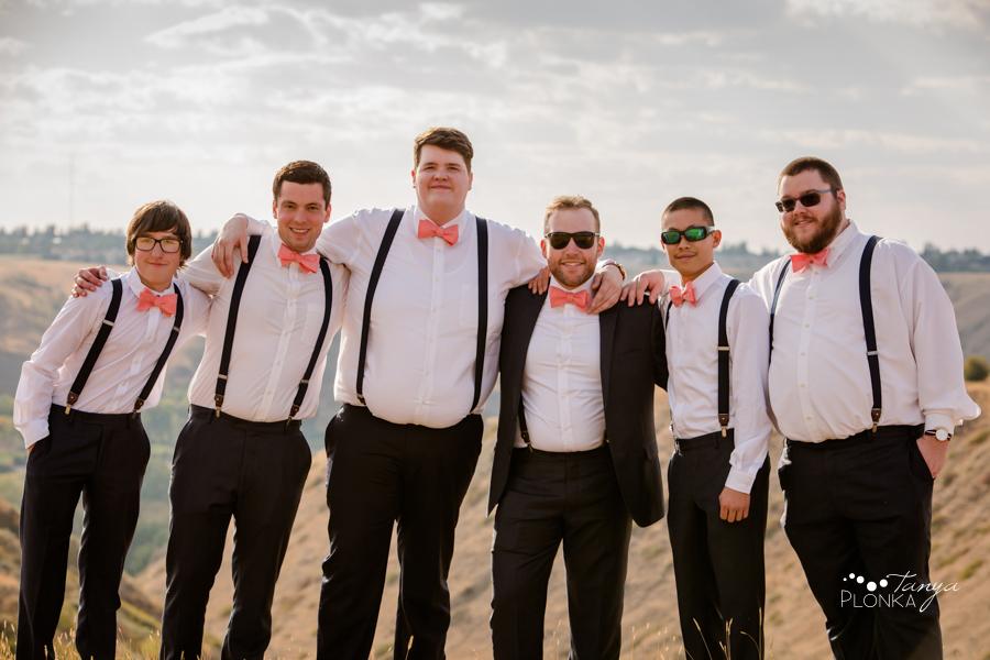Krysty and Kole, Lethbridge coulee wedding photos
