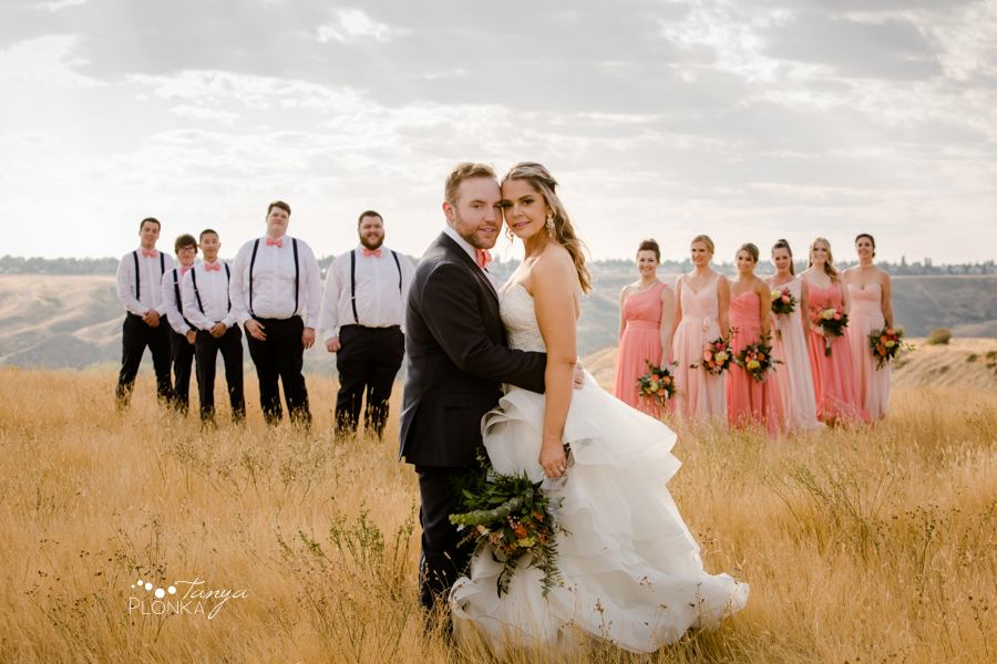 Krysty and Kole, Lethbridge coulee wedding photos
