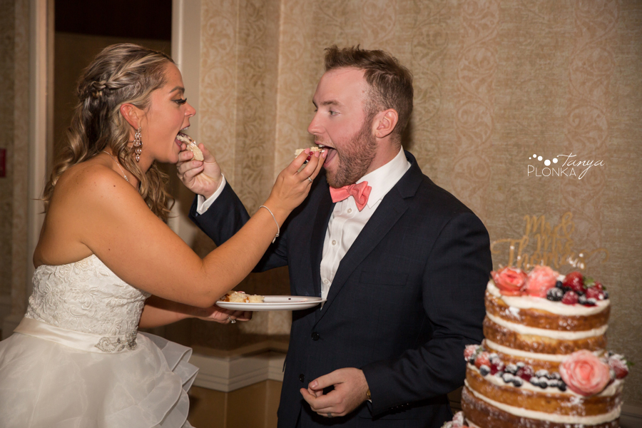 Krysty and Kole, Lethbridge Coast Hotel wedding reception photos