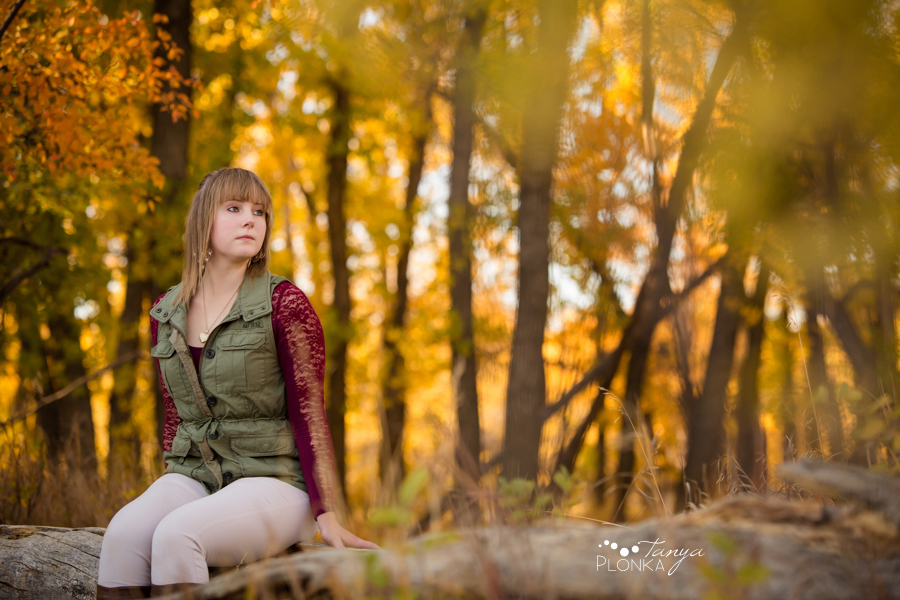 beautiful Indian Battle Park autumn photo session