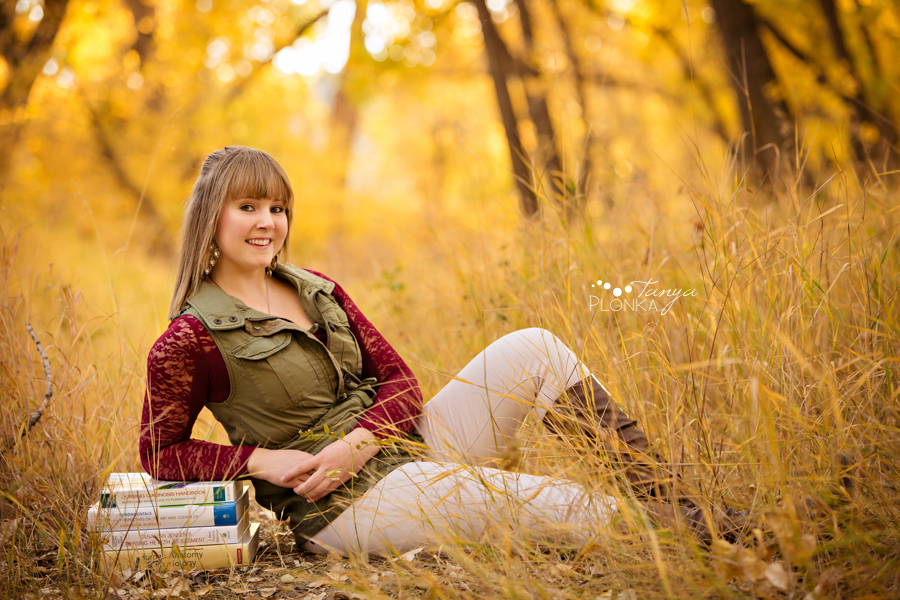 beautiful Lethbridge autumn photo session