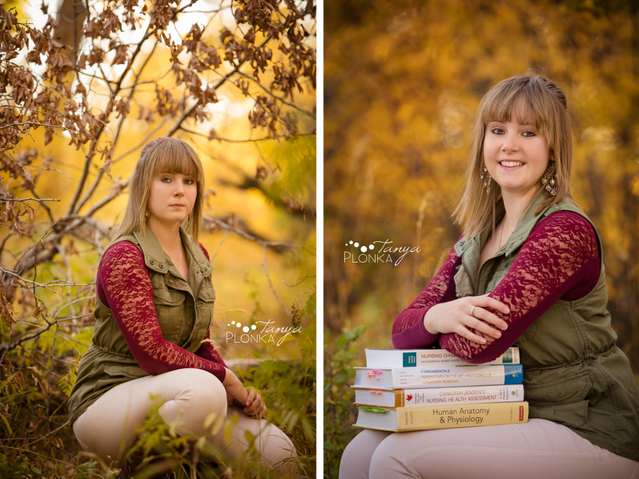 beautiful Lethbridge autumn portraits